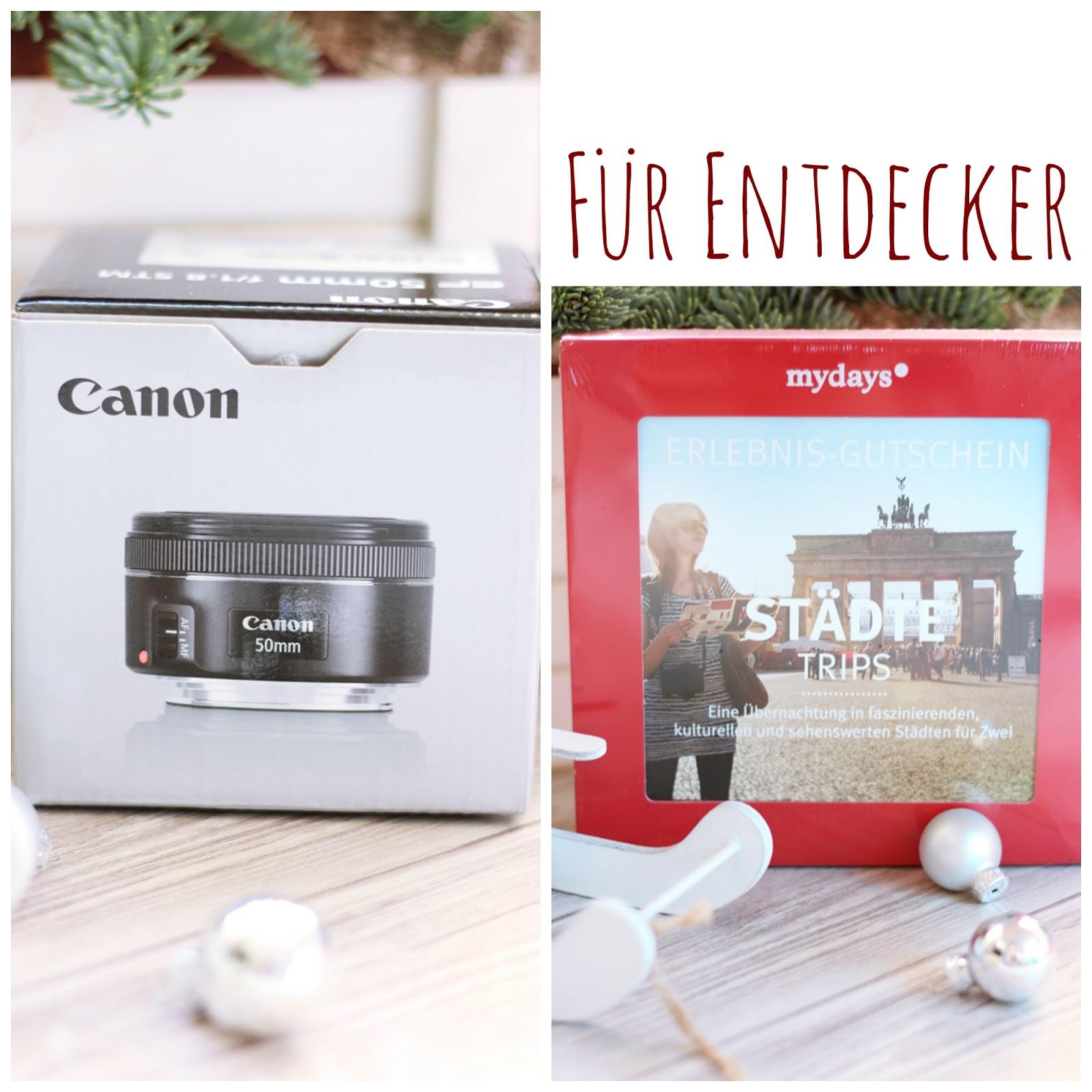 Das EF 50mm 1:1.3 STM U201eBlogger Objektivu201c Von Canon Und Eine Mydays  Geschenkbox. Das Objektiv Gehört Zu Meiner Standardaustattung ...
