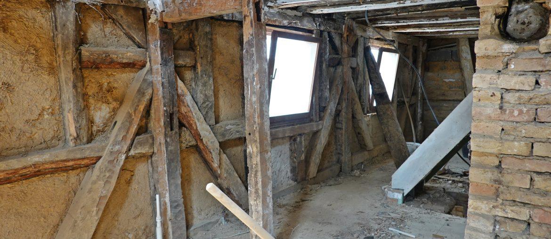 Unser altes Fachwerkhaus – Der Startschuss